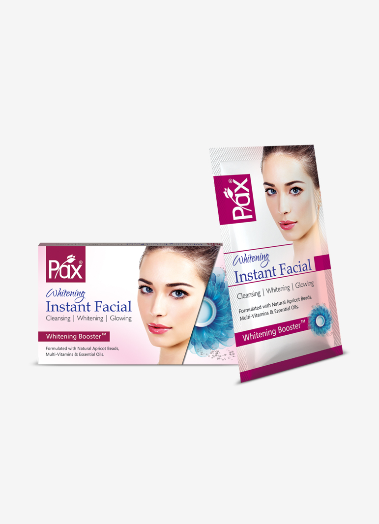 Pax Whitening Instant Facial